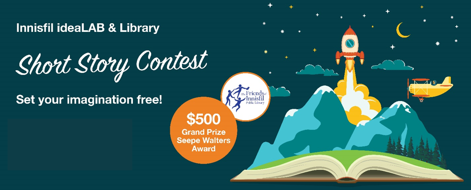 Short Story Contest Promo with $500 prize
