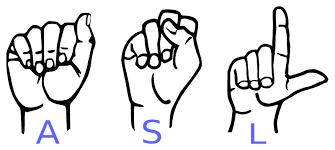 American Sign Language - Sign language