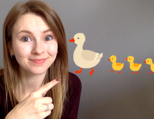 Rhyme Time: 5 Little Ducks with Stephanie