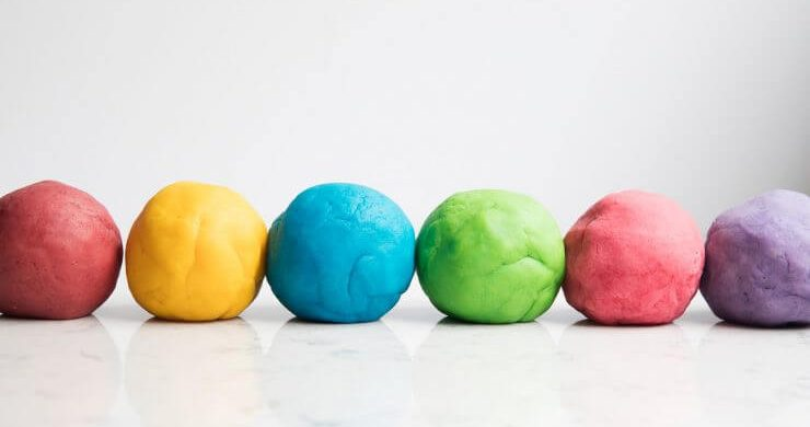 DIY Playdough Balls
