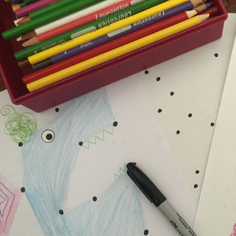 DIY Dot Monsters