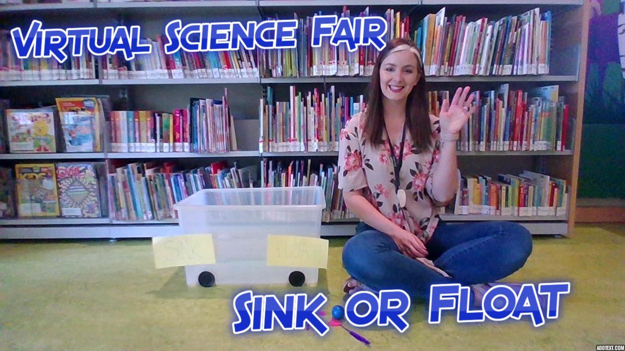Virtual Science Fair: Sink or Float