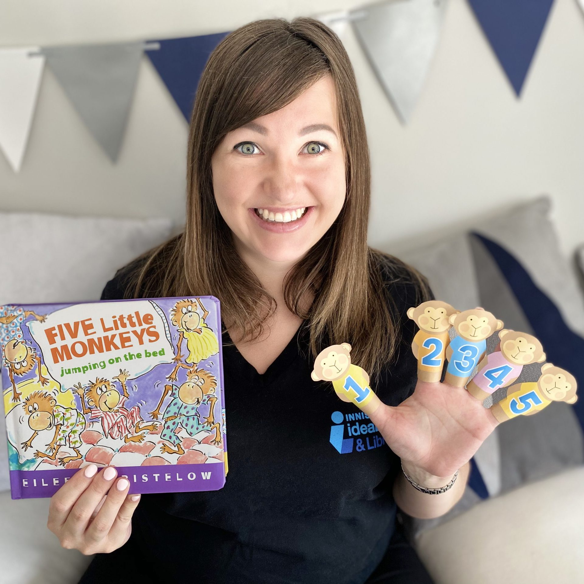Storytime: 5 Little Monkeys with Marianna