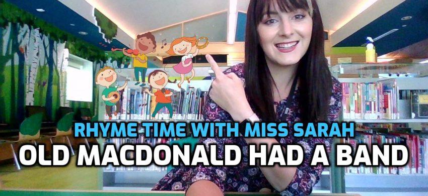 Sing Along: Old MacDonald Had A Band