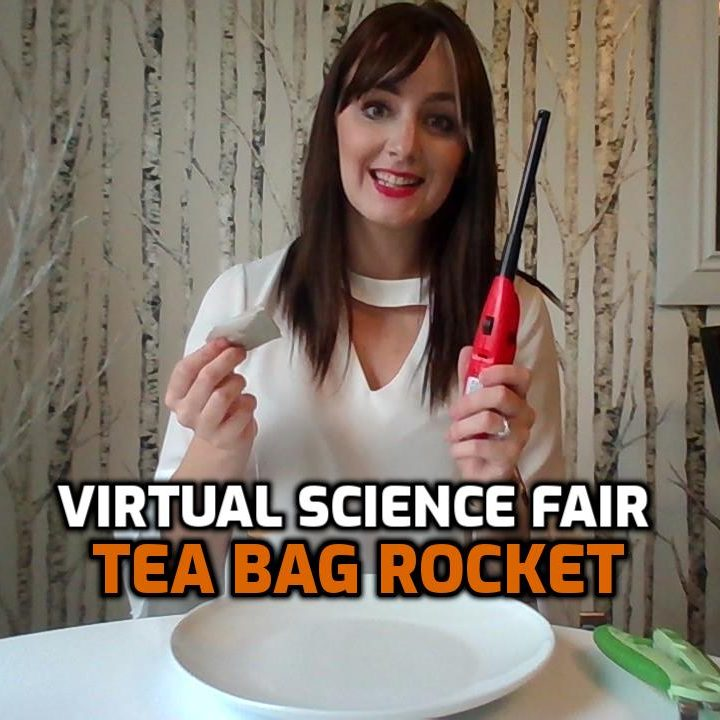 Tea Bag Rockets