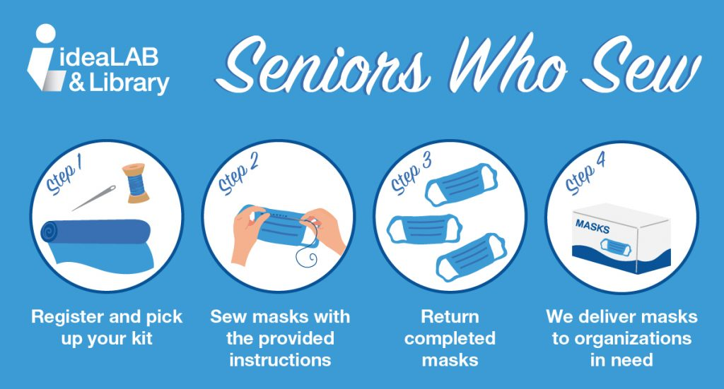 Seniors who sew image