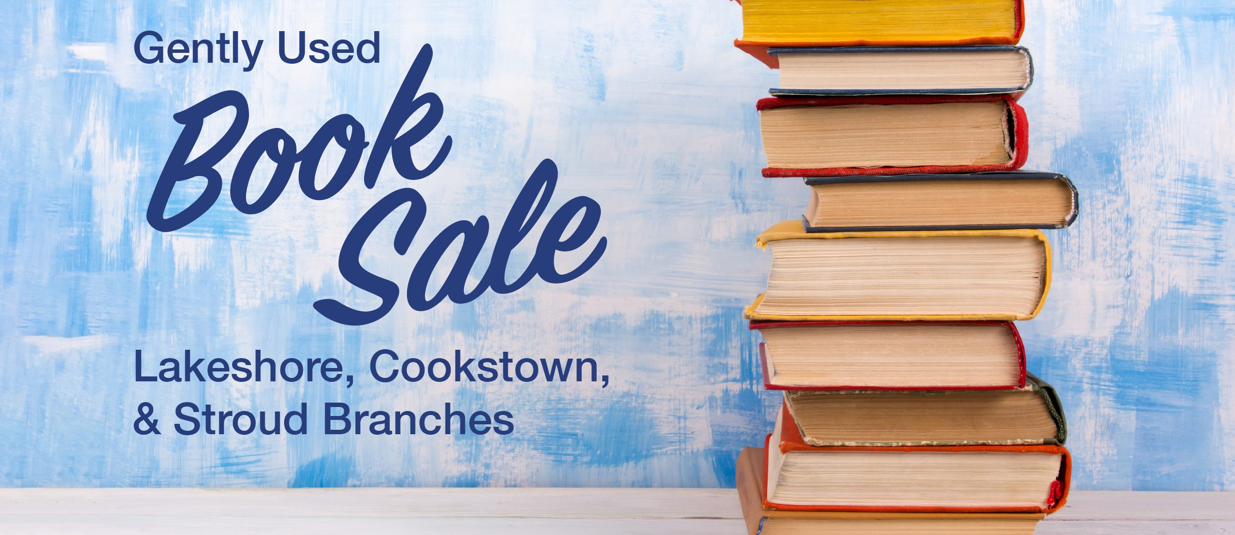 Gently Used Book Sale: Lakeshore, Cookstown and Stroud Branches